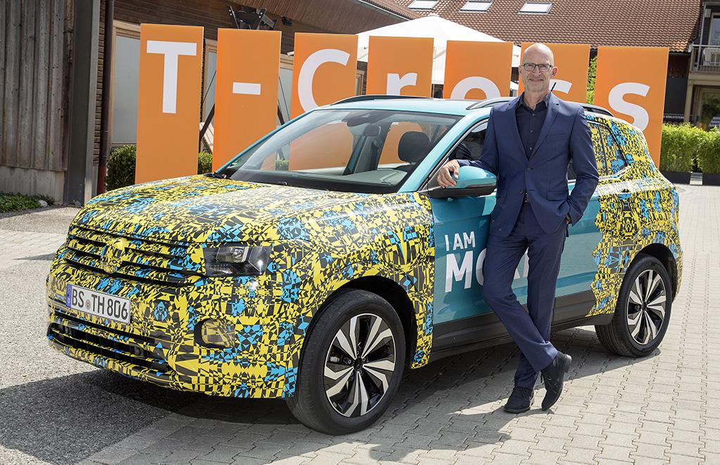 Volkswagen-T-Cross, Klaus Bischoff