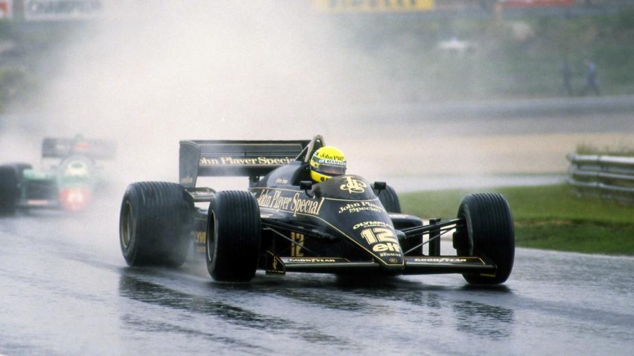 ayrton senna, GP Portugal, 1985