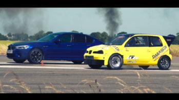 SEAT Arosa vs BMW M5