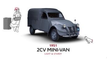 Citroën 2CV Mini-van