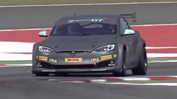 Tesla Model S P100DL Electric GT, Tiff needell