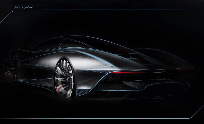 McLaren Speedtail 2018