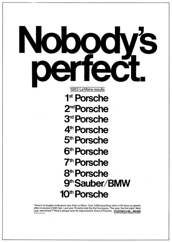 Publicidade Porsche