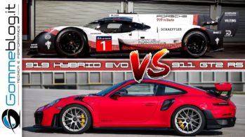 Porsche 919 Evo vs Porsche 911 GT2 RS
