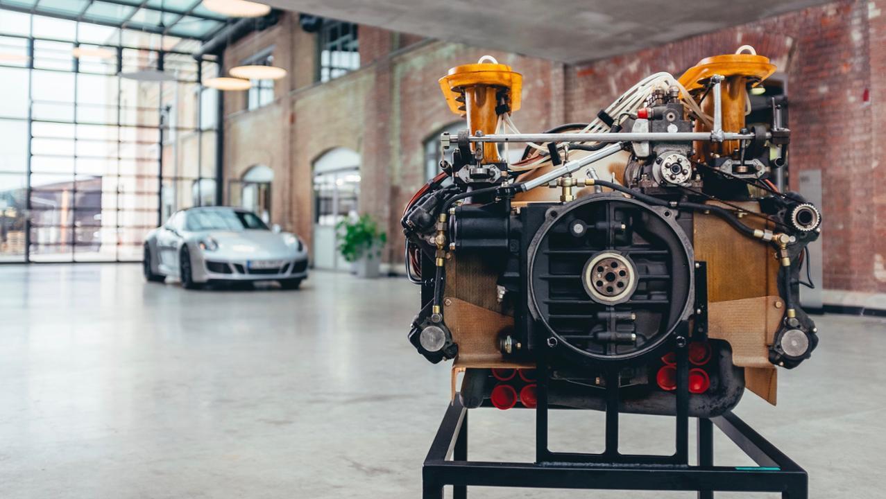 Type 908. Primeiro motor de Fórmula 1 da Porsche