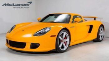 Porsche Carrera GT Amarelo