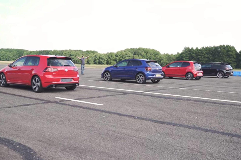 Confronto Volkswagen GTI Carwow 2018