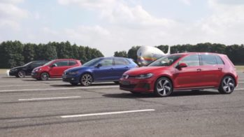 Confronto Volkswagen GTI