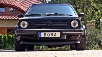 Boba Motoring Volkswagen Golf Mk2