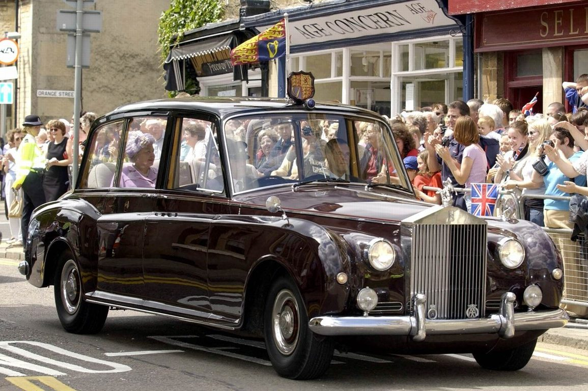 1960, Rolls-Royce Phantom V high roof state limousine