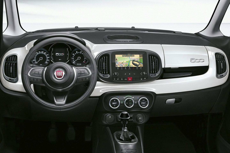 Fiat 500L tablier
