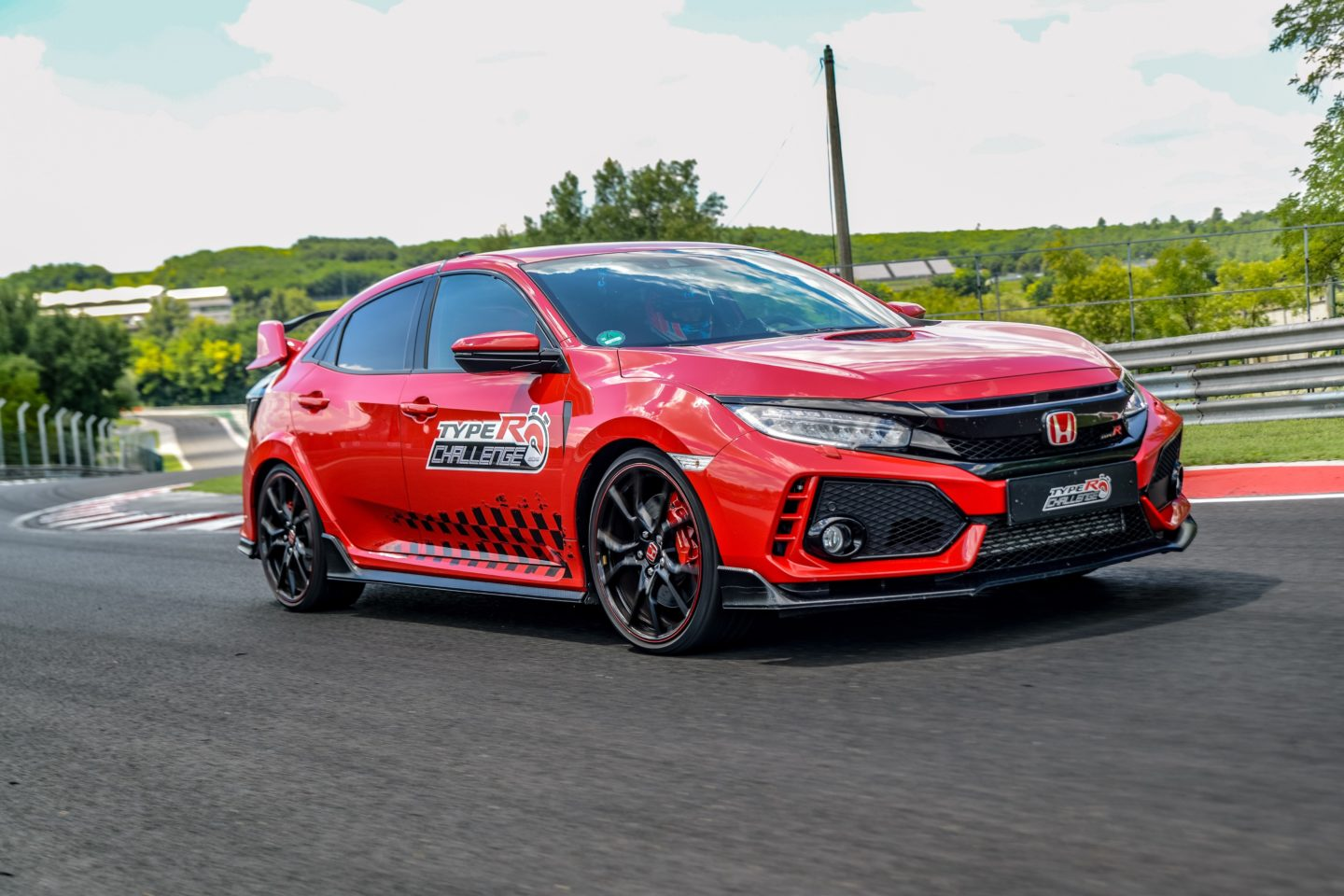 Civic Type R Jenson Button Hungaroring 2018