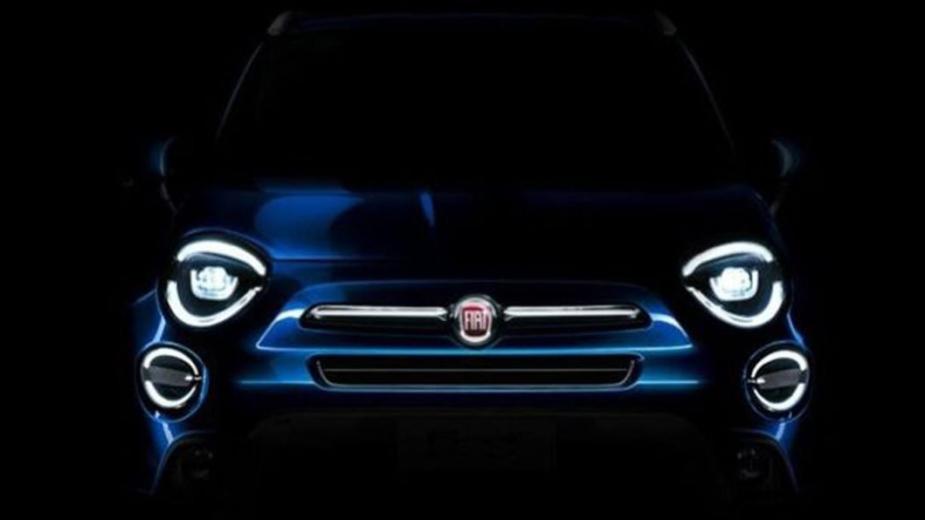 Fiat 500X 2019 teaser
