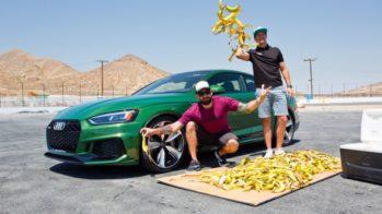 Hoonigan Audi RS5 bananas 2018