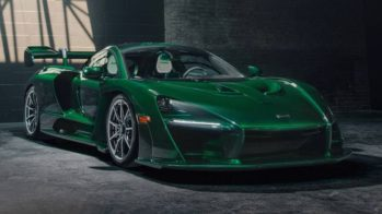 McLaren Senna Green Fux 2018