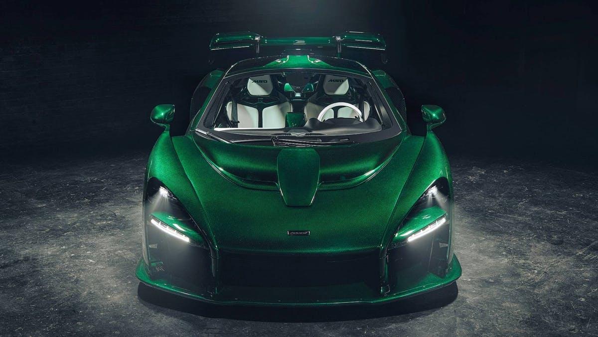 McLaren Senna Green Fux