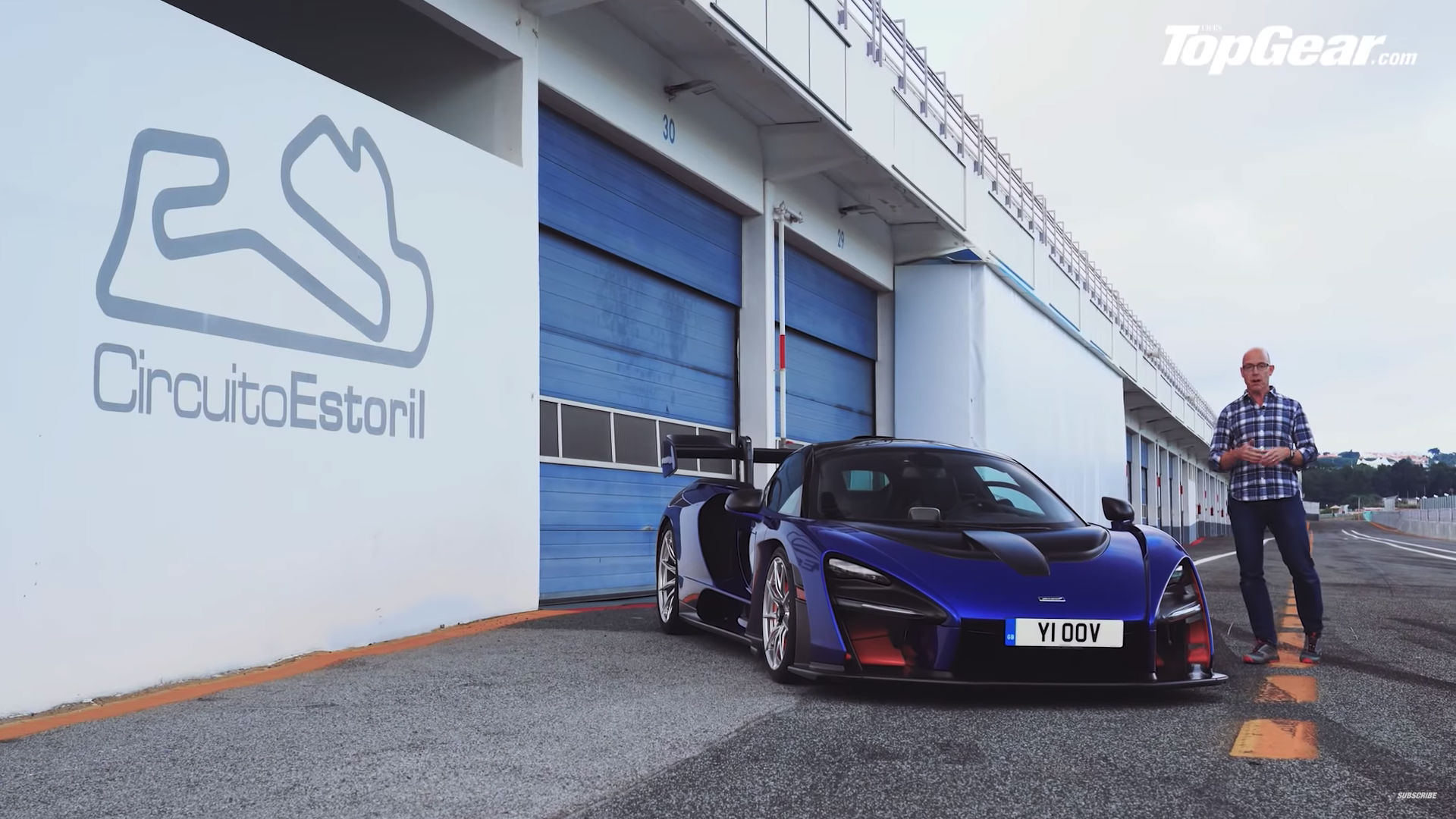 McLaren Senna Estoril Top Gear 2018