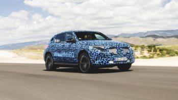 Mercedes EQC Protótipo Deserto Tabernas 2018