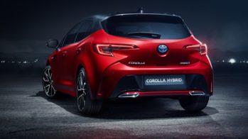 Toyota Corolla HB hybrid 2019