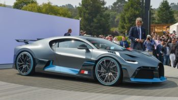 Bugatti Divo Pebble Beach 2018