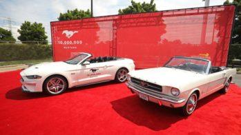 Ford Mustang 10 milhões comemorações 2018