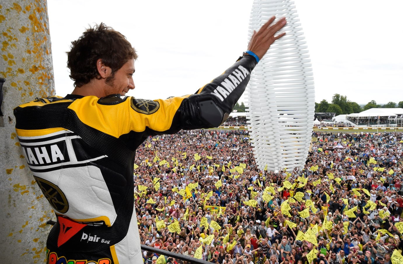 Valentino Rossi em Festival de Goodwood, 2015