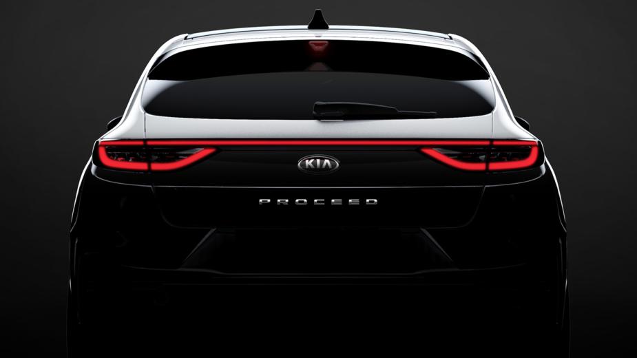 Kia Proceed teaser 2018
