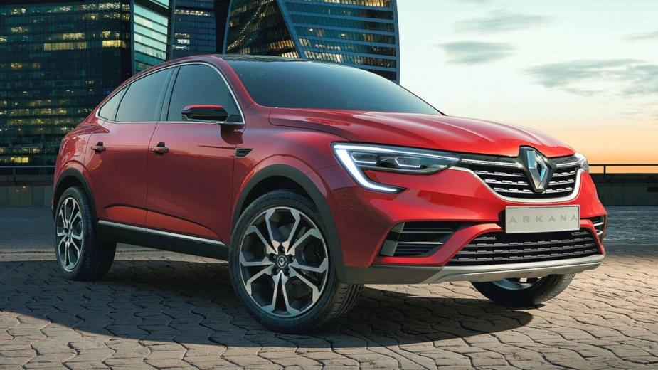 Renault Arkana Russia 2018