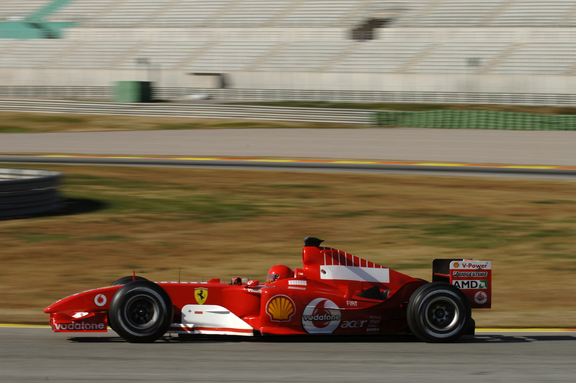 Teste no Ferrari Fórmula 1