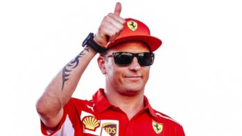 Kimi Raikkonen Ferrari 2018