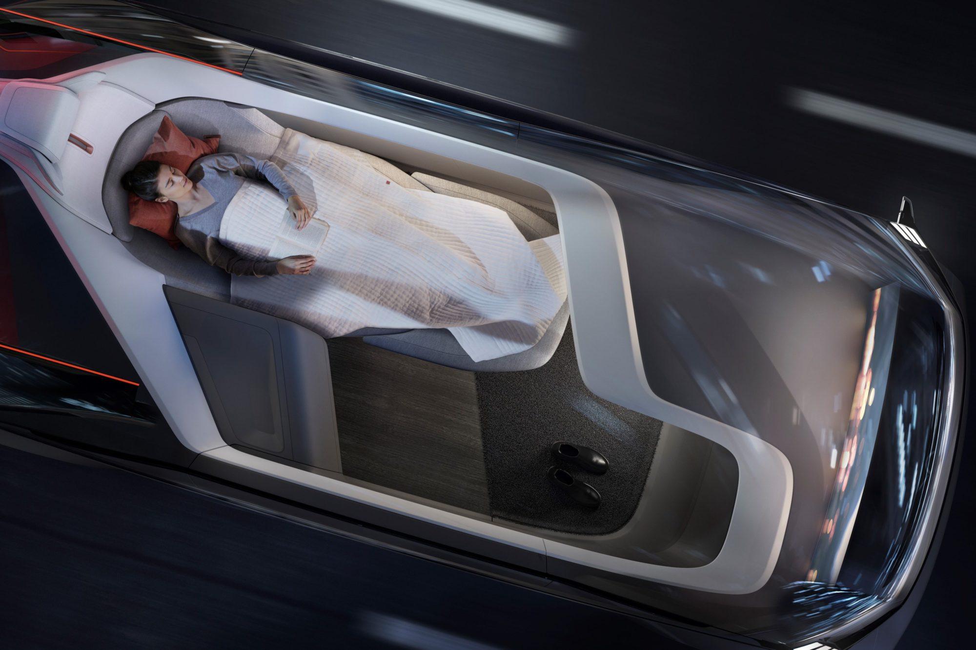 Volvo 360c Interior 2018