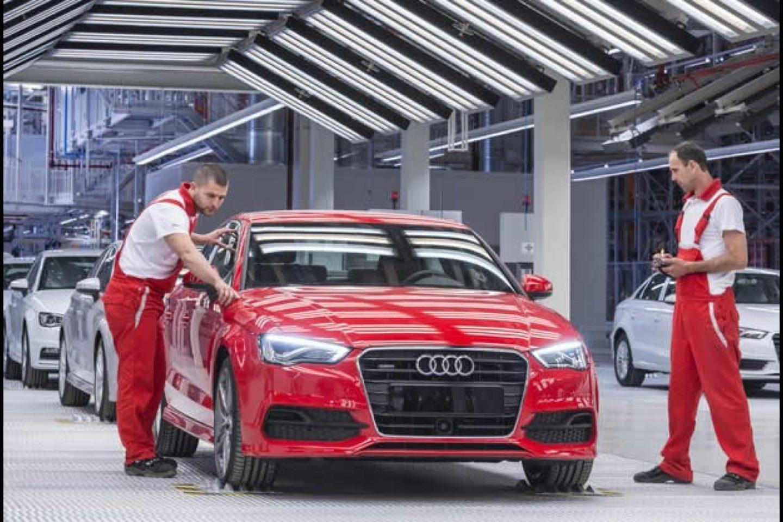 Audi produção