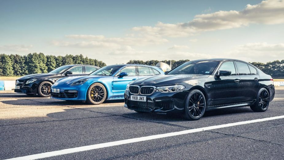 E63 S vs Panamera ST Turbo S E-Hybrid vs M5