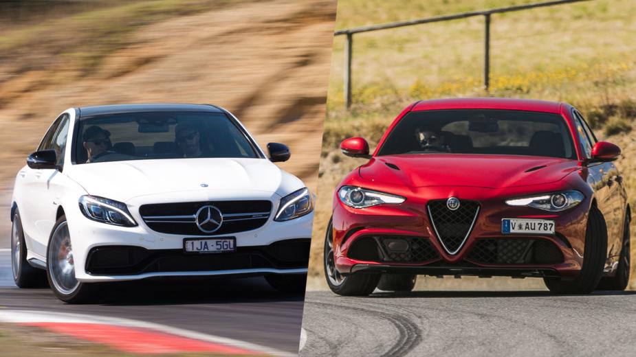 Alfa Romeo Giulia Quadrifoglio vs Mercedes-AMG C 63S