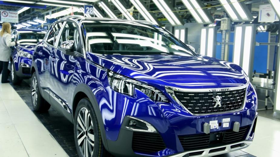 Peugeot 3008 fabrica 2018