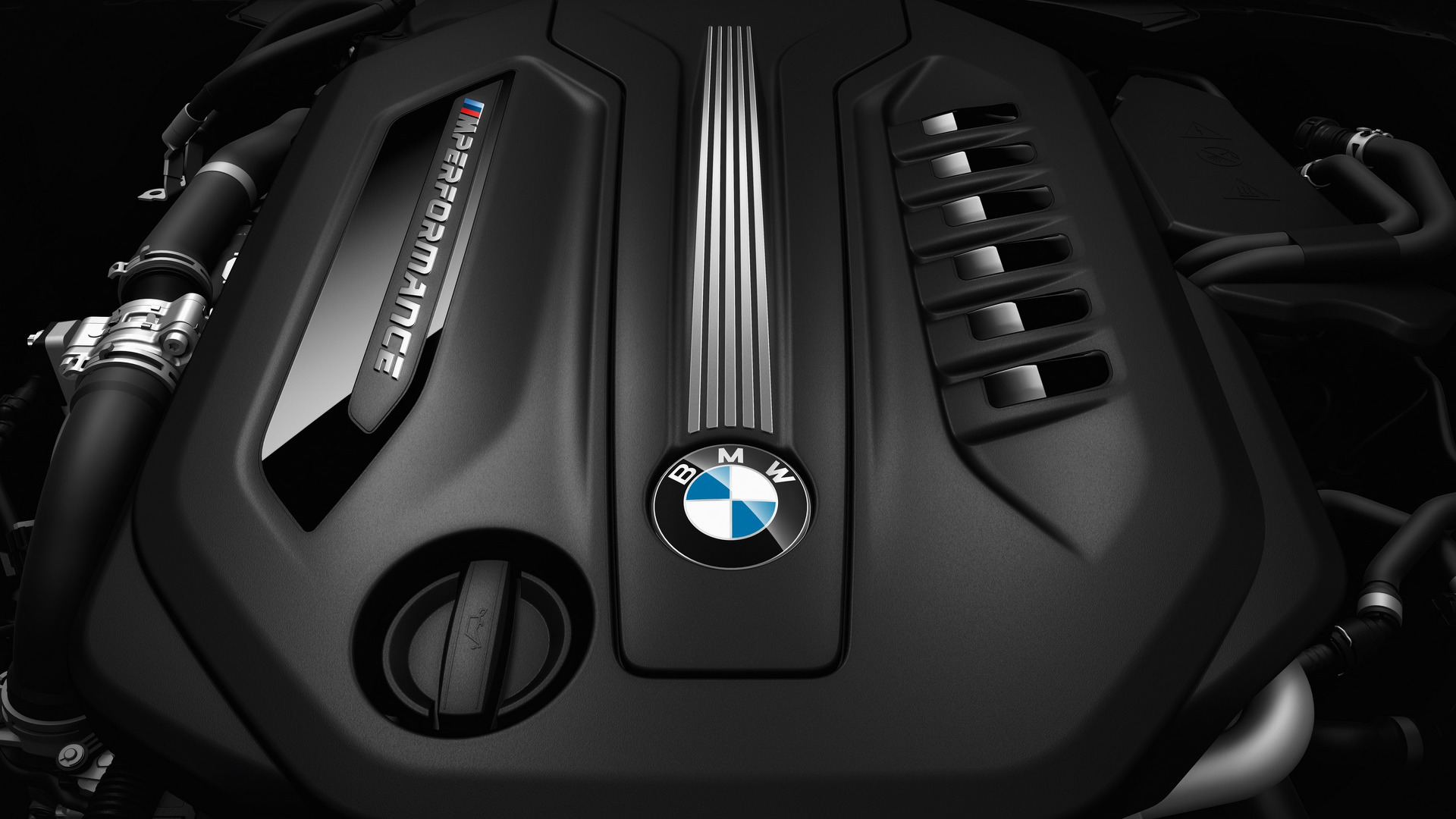 BMW M550d motor