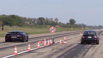 Audi S4 vs Bugatti Chiron
