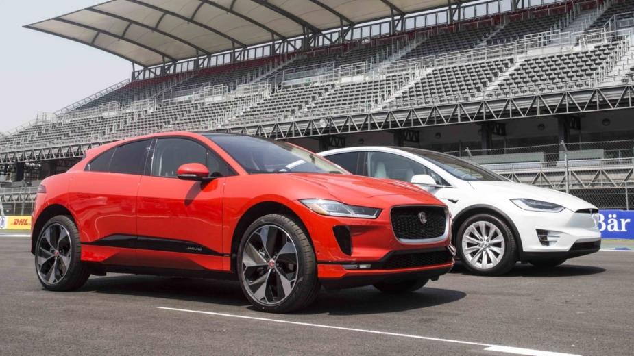 Jaguar, Tesla