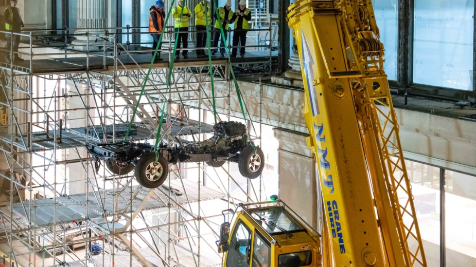 Land Rover Defender Selfridge