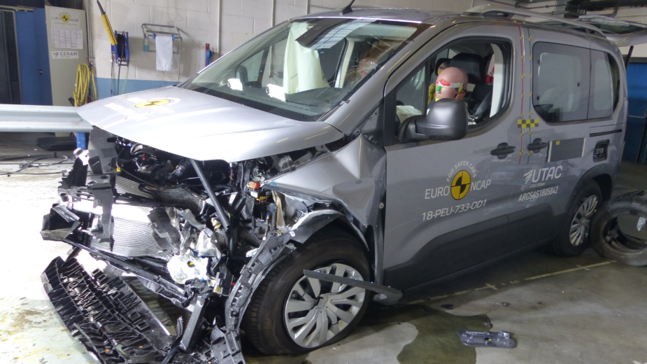 Peugeot Rifter crash-test