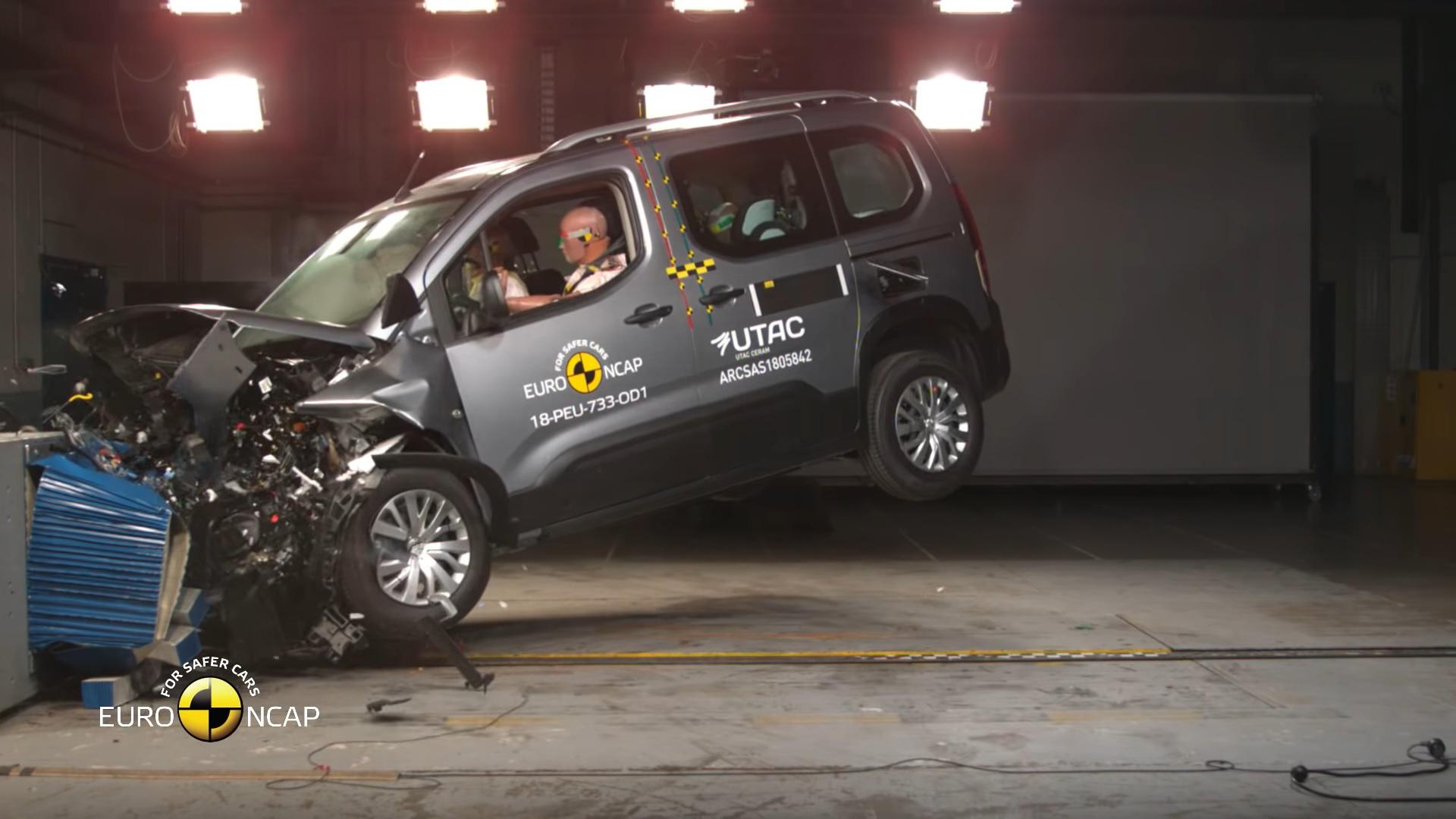 Peugeot Rifter crash-test