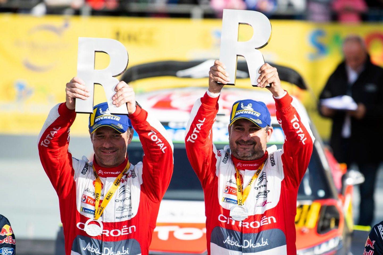 Sébastien Loeb e Daniel Elena