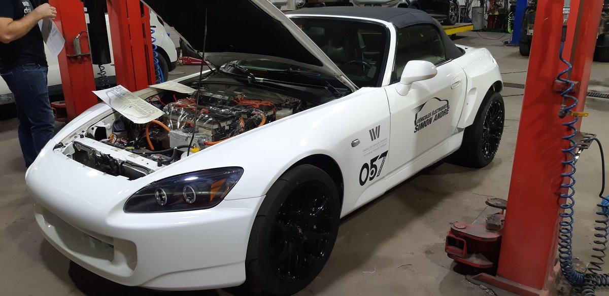 Honda S2000 elétrico