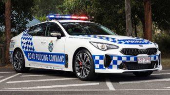 Kia Stinger, polícia australiana