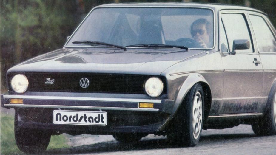 Volkswagen Golf Nordstadt V8, porsche 928