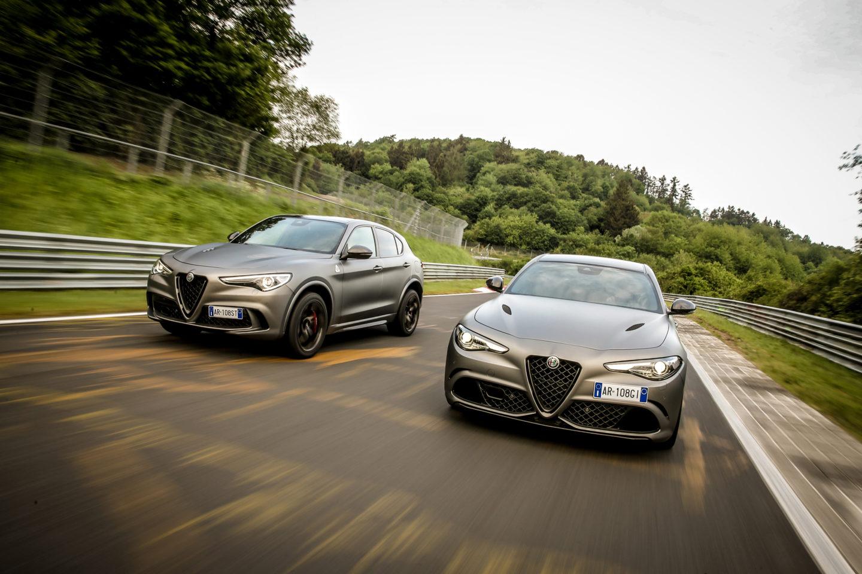 Alfa Romeo Stelvio e Giulia Quadrifoglio