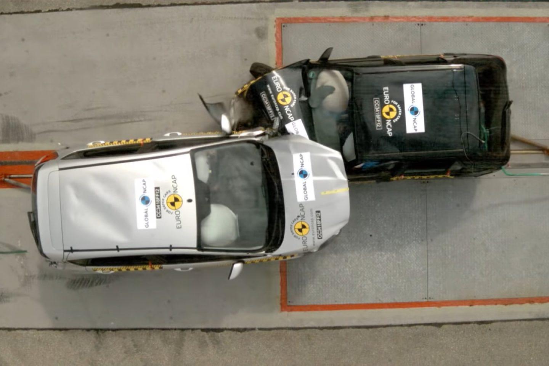 Ford Fiesta Crash test