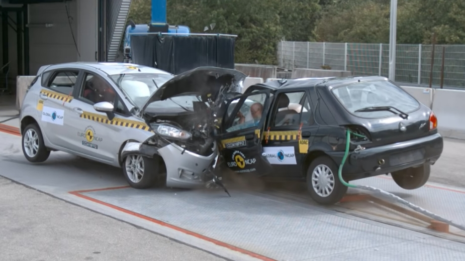 Ford Fiesta crash test