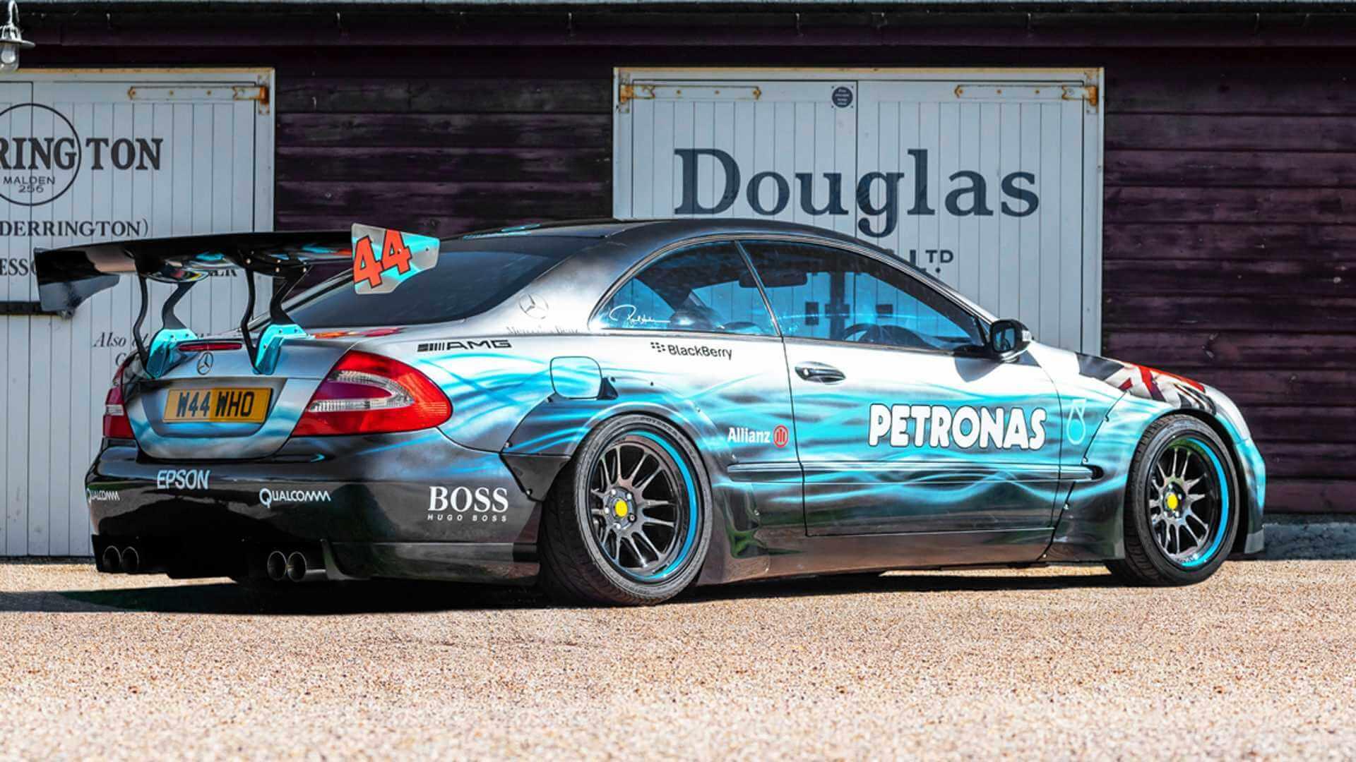 Mercedes-Benz CLK tributo a Lewis Hamilton