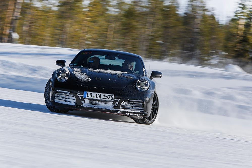Porsche 911 (992) testes desenvolvimento